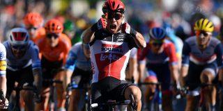 Tour 2020: Caleb Ewan wint in Sisteron voor geplaagd Lotto Soudal, Sam Bennett tweede