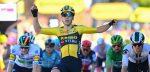 Tour 2020: Wout van Aert klopt Bol in wandeletappe naar Privas, Yates nieuwe leider