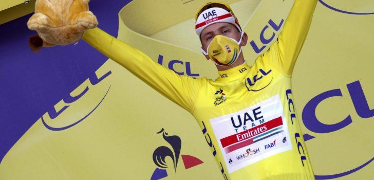 Tourwinnaar Tadej Pogacar begint seizoen op Mallorca