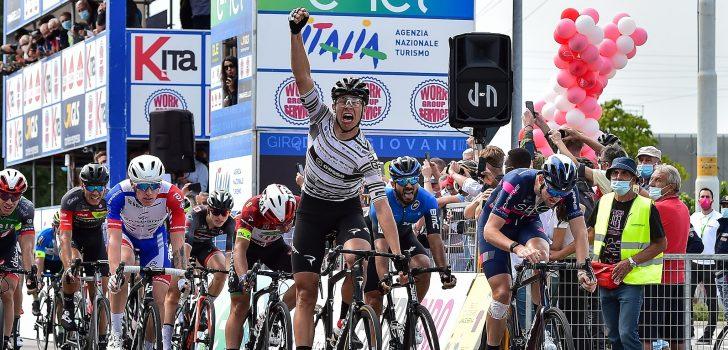Giro U23: Jonathan Milan sprint sneller dan Meeus in Rosà