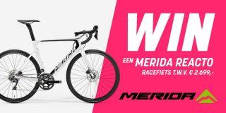 LAATSTE KANS: Voorspel de top drie van slotetappe van de Giro en maak kans op een Merida Reacto