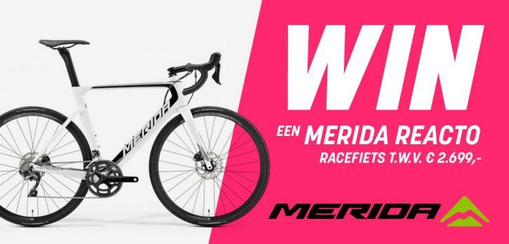 Winactie: Voorspel het podium van de Giro-etappe van woensdag en maak kans op een Merida Reacto