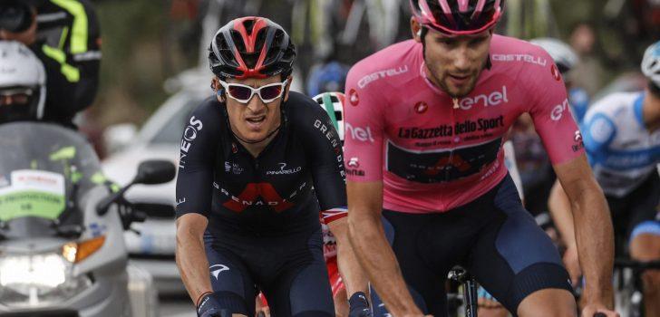 Geraint Thomas niet meer van start in vierde etappe Ronde van Italië