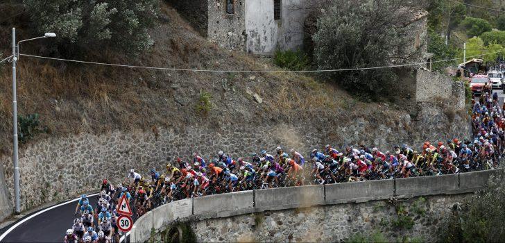 Giro 2020: Zieke Benjamin Thomas staakt de strijd