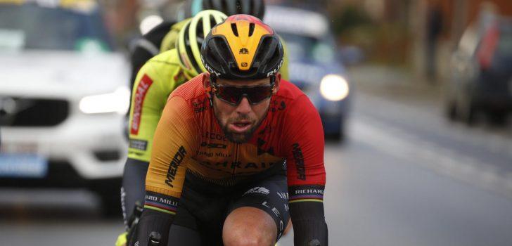 """Mark Cavendish in tranen na Gent-Wevelgem: """"Dit was misschien wel mijn laatste wedstrijd"""""""
