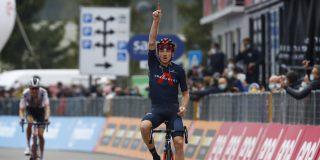 Giro 2020: Tao Geoghegan Hart wint op Piancavallo, Kelderman pakt tijd terug