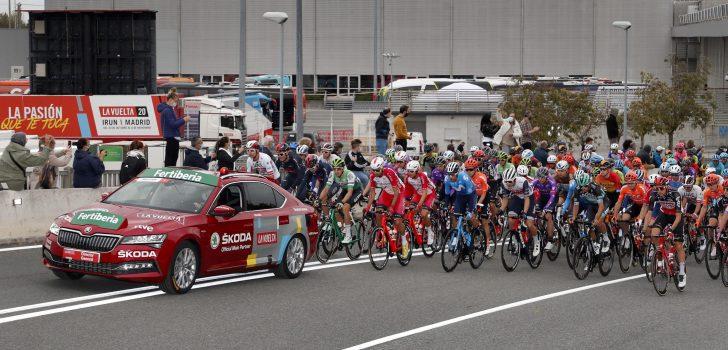 Vuelta 2020: De uitvallers