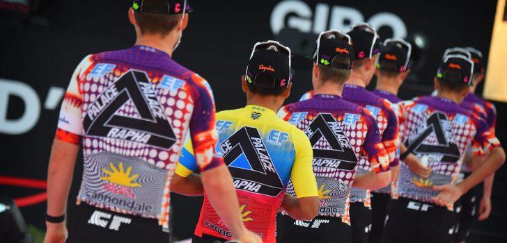 Giro 2020: EF Pro Cycling kiest voor opmerkelijk nieuw shirt