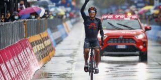 Giro 2020: Vroege vluchter Jhonatan Narváez wint in kletsnat Cesenatico