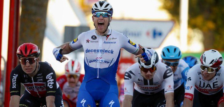 Vuelta 2020: Ackermann profiteert in Aguilar de Campoo van declassering Sam Bennett