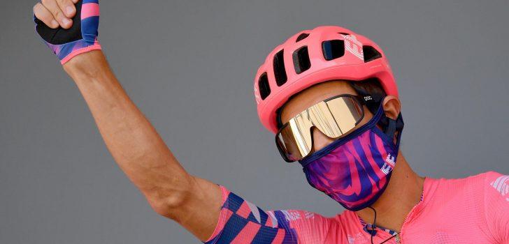 """Rigoberto Urán valt terug naar tiende plek: """"Zijn voorbereiding was niet ideaal"""""""