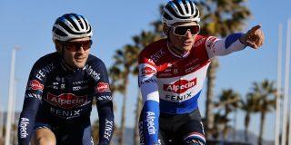 Mathieu van der Poel voert Alpecin-Fenix aan in UAE Tour