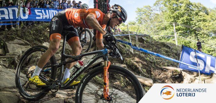Milan Vader, al sinds zijn zevende verknocht aan de mountainbike
