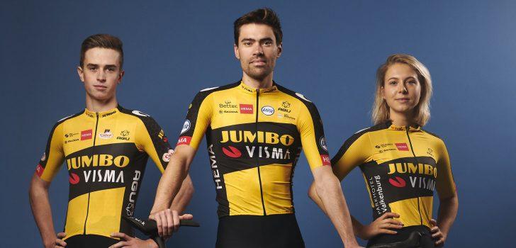 Wielertenues 2021: Team Jumbo-Visma showt tenue en fiets voor 2021