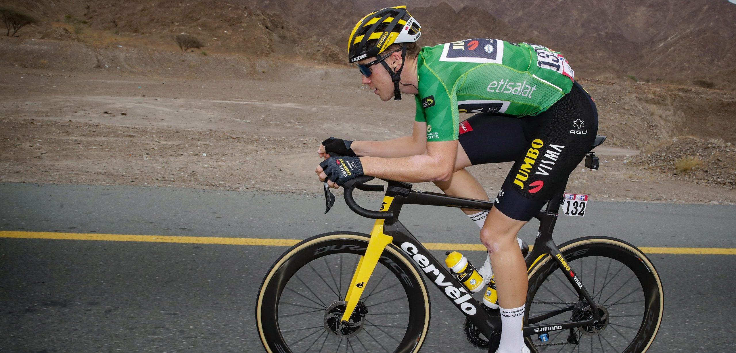 """Dekker vierde in UAE Tour: """"Mijn benen waren niet goed genoeg"""" - Wielerflits"""