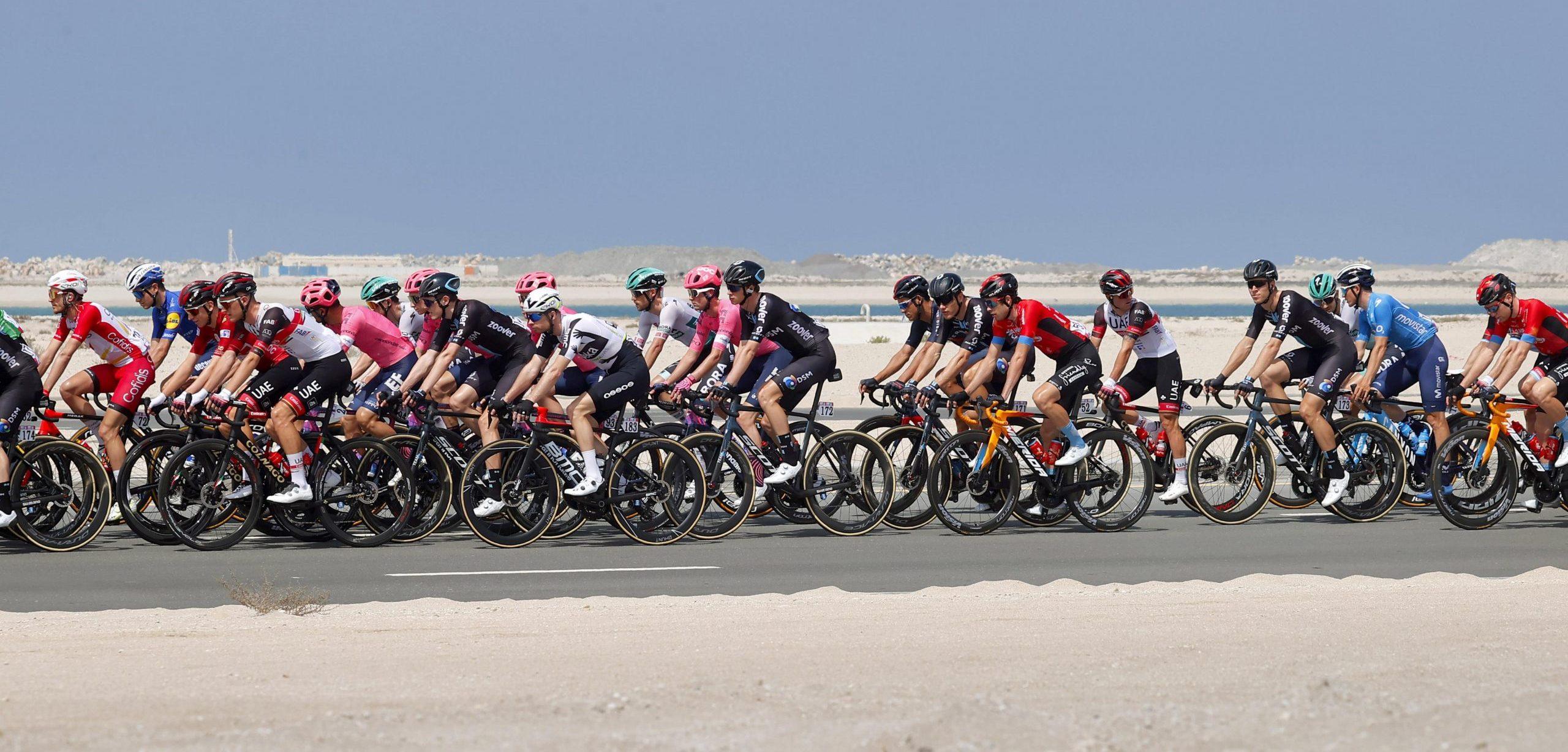 Volg hier de slotetappe van de UAE Tour 2021 - Wielerflits