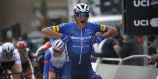 Davide Ballerini sprint naar zege in Omloop Het Nieuwsblad