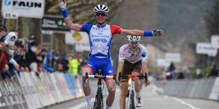 David Gaudu zegeviert in Faun-Ardèche Classic
