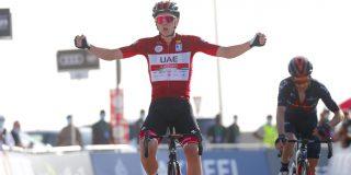 UAE Tour: Tadej Pogacar wint op Jebel Hafeet na titanenduel met Adam Yates