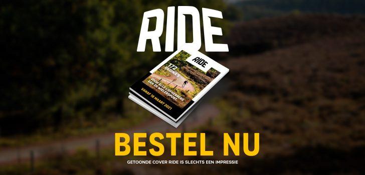 Bestel nu de eerste editie van ons magazine Ride