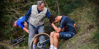 Bagioli en Kwiatkowski komen lelijk ten val in Trofeo Laigueglia