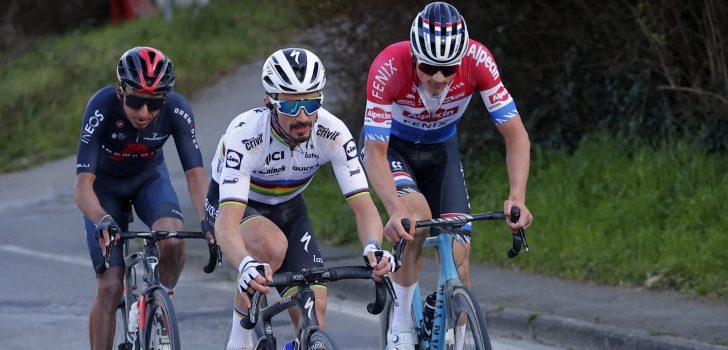 """Egan Bernal derde in Strade Bianche: """"Ik ben verrast"""""""