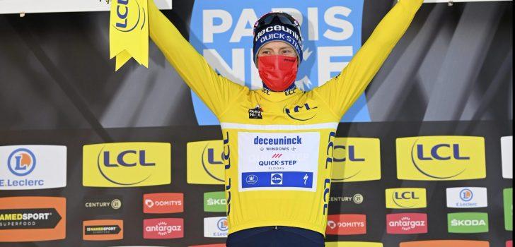 """Bennett eerste leider Parijs-Nice: """"Was bang dat mijn benen niet goed waren"""""""