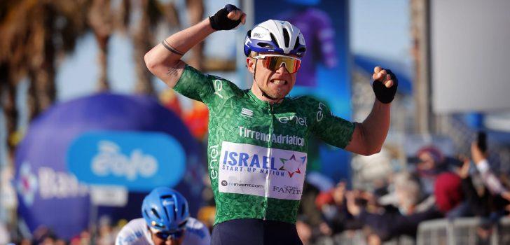 Mads Würtz Schmidt beste vluchter in zesde etappe Tirreno-Adriatico