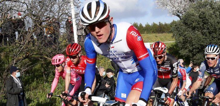Lars van den Berg vervangt Thibaut Pinot en debuteert in Giro d'Italia
