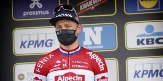 """Mathieu van der Poel na verlies van De Ronde: """"Ontzettend ontgoocheld"""""""