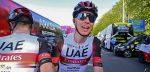 Tadej Pogacar samen met twee oud-winnaars in Ronde van Slovenië