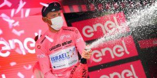 """Emotionele De Marchi grijpt de roze trui: """"Ik ben sprakeloos"""""""