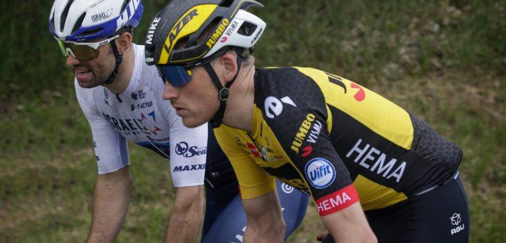 Mike Teunissen reageert op incident met Rudy Barbier in volle sprint