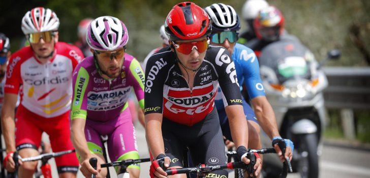 Giro 2021: Lotto Soudal ziet Kobe Goossens uitvallen