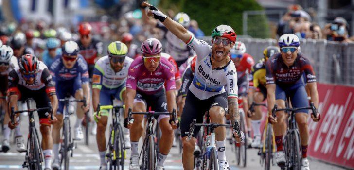Giro 2021: Giacomo Nizzolo boekt felbegeerde eerste etappezege