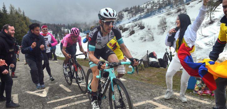 Giro 2021: Dit zijn de verschillen tussen de favorieten na de Monte Zoncolan