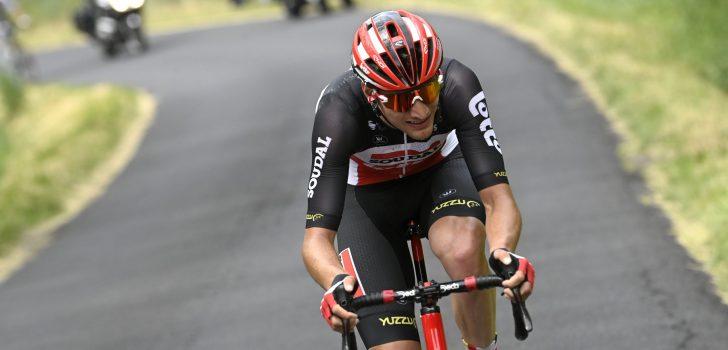 Brent Van Moer soleert naar overwinning in openingsrit Critérium du Dauphiné