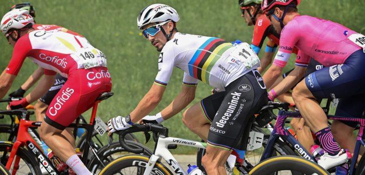 Ronde van Zwitserland: Julian Alaphilippe krijgt twintig seconden tijdstraf