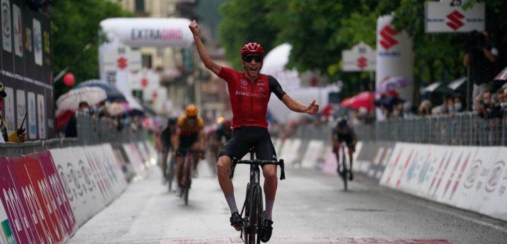 Aloïs Charrin wint zesde etappe Giro d'Italia U23
