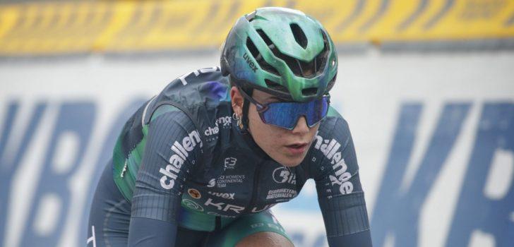 Eerste UCI-zege voor Daniek Hengeveld in proloog Belgrade GP