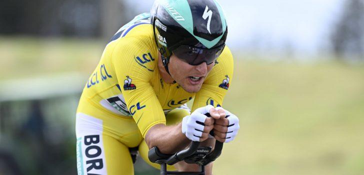 "Lukas Pöstlberger: ""Verrast dat ik de gele trui nog heb"""