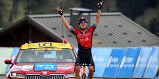 Padun zegeviert in koninginnenrit Critérium du Dauphiné, Porte pakt het geel