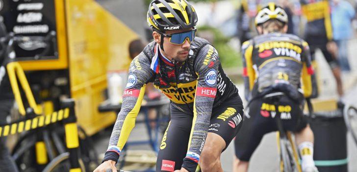 Vuelta 2021: Primoz Roglic werkt openingstijdrit af op gouden fiets