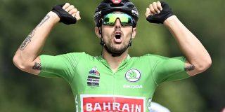 """Colbrelli denkt na over groene trui in de Tour: """"Een opgave, maar niet onmogelijk"""""""