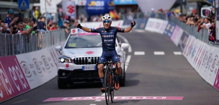Ciuccarelli zegeviert in bergrit Giro d'Italia U23, Ayuso blijft leider