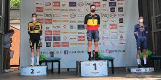 Lotte Kopecky wint derde Belgische tijdrittitel op rij