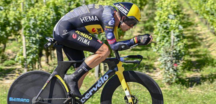 Tour 2021: Wout van Aert wint tijdrit naar Saint-Emilion