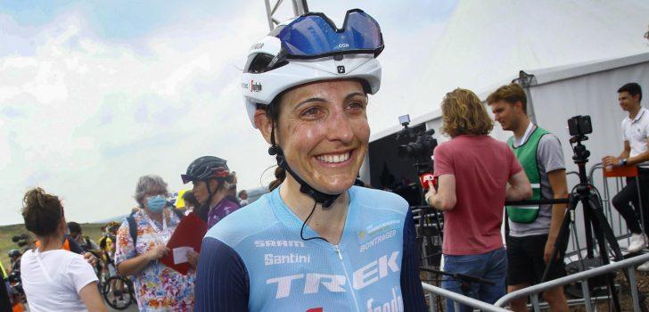 Lucinda Brand niet in Parijs-Roubaix