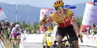 Tobias Johannessen de beste in bergetappe Sazka Tour, Filippo Zana leider