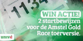 Speel jouw wielerpeloton bij elkaar en win twee startbewijzen voor de Toerversie Amstel Gold Race